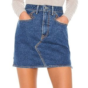 GRLFRND Odette Denim Mini Skirt Size 27